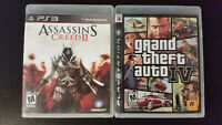 Grand Theft Auto 4, Resident Evil 5, Assassin's Creed 2