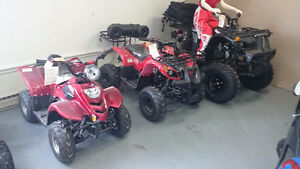 GREAT DEAL ON THESE LAST 2016 ATVS