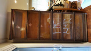 Vintage Globe-Wernicke barrister bookcase, 8 pieces