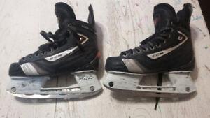 CCM U+ Vibe Junior Performance Hockey Skate