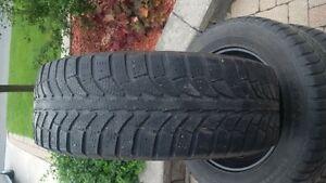 215/60R16 Champiro IcePro winter tires and rims