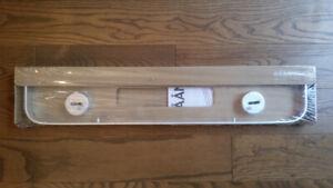 Tablette en verre IKEA, RAAN 25po