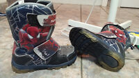 NEW Spiderman Winter Boots (Light up) - NEED GONE