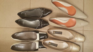 """""""4 Pairs of Designer Shoes New Condition"""""""
