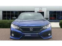 2019 Honda Civic 1.0 VTEC Turbo 126 Sport Line 5dr CVT Petrol Hatchback Auto Hat