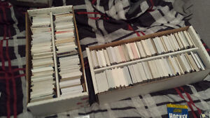 three  1500 count boxes of hockey cards for sale or trade