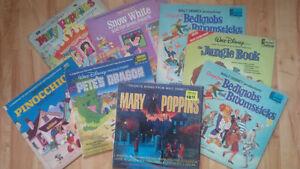 8 well played Walt Disney,Vinyl, LP, Records
