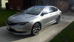 2015 CHRYSLER 200 S  PANORAMIC ROOF  NAV  EVERY OPTION AVAILABLE