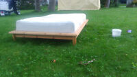 STUDENT SPECIAL: Ikea bed frame and mattress