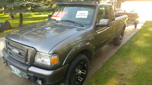 2007 Ford Ranger 4x2 Quad Cab 3L, New Safety, front end