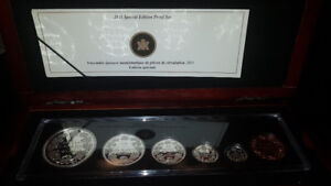 2011 6 Coin 1911 100th Anniversary Pattern Silver Dollar Set
