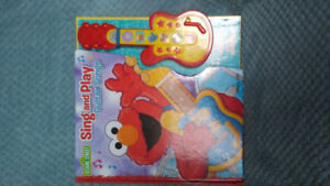 Elmo sing and play childrens book