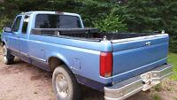 1997 Ford F-350 Turbo Blue Pickup Truck