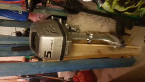5hp four stroke outboard