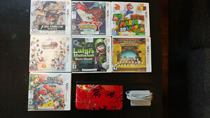 3DS XL Special pokemon X & Y plus 7 games
