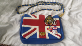 Union Jack crossbody bag