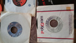 Various 45's  24 records, take all for $25