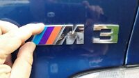 Motorsport Emblem BMW M3 M5 Badge for E36 E30 E34 Trunk