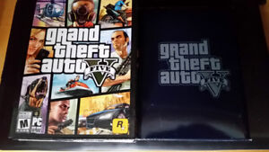 Like New In Box - GTA 5 FOR **PC ONLY**
