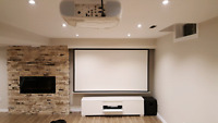 Professional Projector/TV Wall Mount & Home Theatre Installation