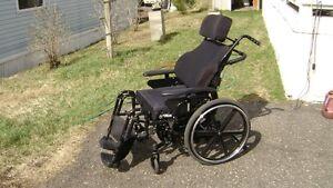 Orion II Tilt in Space Wheelchair