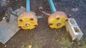 Axles with Hydrolic brakes