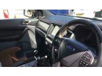 2017 Ford Ranger 3.2 WILDTRAK 4X4 DCB TDCI PICK UP DIESEL Manual