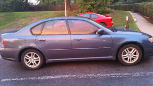 2005 Subaru Legacy 2.5L Sedan  4 winter Tires on rims!!!!