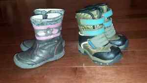 Winter Toddler Boots size 5 and 6