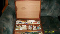 Paint Box and Artist's Materials for sale