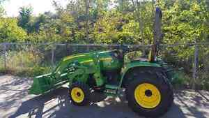 John Deere 3520 with 300 CX Loader