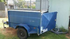 6x4 TRAILER-LOCKABLE-PROFESSIONALLY BUILT & TOP CAGE REMOVEABLE. Warracknabeal Yarriambiack Area Preview
