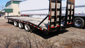 2012 felling tridem tag float trailer