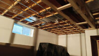 experienced mud&taper and drywall installing