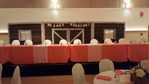 Rustic Wedding Arch, Wine Barrels, Wine Barrel Tables for Rent! Strathcona County Edmonton Area image 10