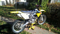 Suzuki  RM-Z 450f with custom suspension with Gear !!