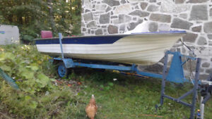 Chaloupe Boat 16 pieds/foot