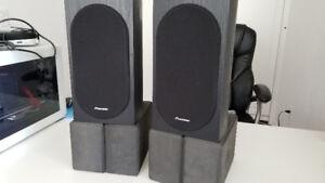 Pioneer SP-BS22-LR Bookshelf Speakers - $120