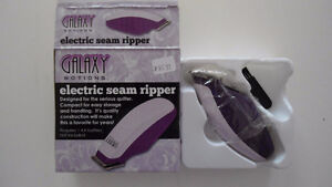 New in Box Electric seam ripper or best offer sewing crafts