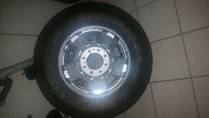 5 tire & rim set for super duty F250 London Ontario image 1