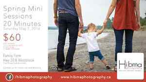 Spring Family Mini Sessions (in time for Mother's/Father's Day!)