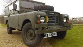 1979 LAND ROVER DEFENDER SERIES 3 109 BELIEVED GENUINE 24000 MILES JUST