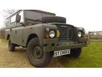 1979 LAND ROVER DEFENDER SERIES 3 109 BELIEVED GENUINE 24000 MILES JUST