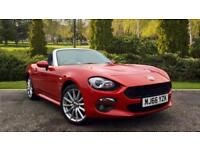 2016 Fiat 124 Spider 1.4 Multiair Lusso 2dr Manual Petrol Convertible