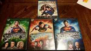 Superman dvd and blu ray