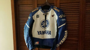 Joe Rocket Yamaha leather jacket Sz 48 XL