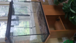 Fish tank/aquarium and stand for tank for fish, reptile etc.