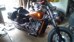 2008 Honda shadow 750 for sale or trade for dodge ram 1500 4x4
