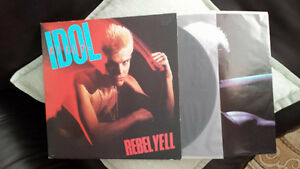 BILLY IDOL REBEL YELL VINYL ! ORIG PRESS MINTY ! LIKE NEW !