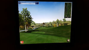 Simulateur de golf Trugolf avec logiciel Saint-Hyacinthe Québec image 1